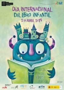 Cartel día internacional del libro infantil 2014