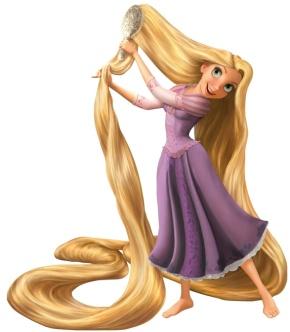 587px-Rapunzel-peinando