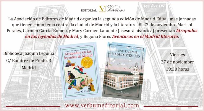 Madrid Edita Atrapados